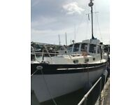 *REDUCED* Otter 36' Classic wooden boat HIGH SPEC