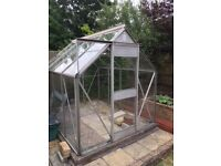 8' x6' greenhouse for sale.