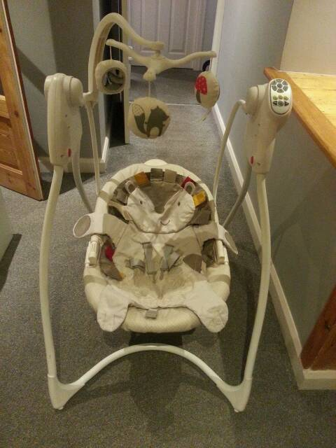GRACO swing for children, baby bath, toys for cot | in Halton, West ...