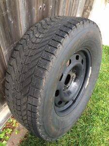 Snow tires 265/70R 17 and rims