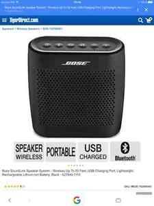 Haut-parleur  ¨Bose¨  SoundLink Color Bluetooth Speaker (Black) West Island Greater Montréal image 6