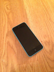 Blue 8GB iPhone 5C