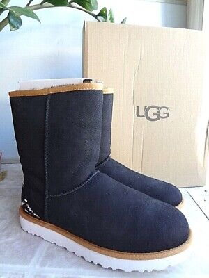 UGG Classic Short Rustic Weave Boots, 9 (NEW) Free Shipping (Short Classic Ugg Boots)