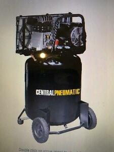 HOC - 29 gal. 2 HP 150 PSI Cast Iron Vertical Air Compressor + WARRANTY + FREE SHIPPING