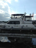 What a Gem !!  Immaculate Fully Loaded - Low Miles 42 Ft. Yacht.
