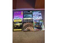 4 x 4 Suzuki Manuals and VW Golf Magazines