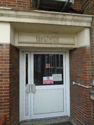 Entrance Sign / School Entrance Signs Circa 1930/ Girls Sign