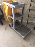 Janitor cart, brand new