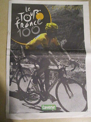 VELO : TOUR DE FRANCE : 100ème EDITION - 26/06/2013 -