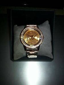Michael Kors Rose gold watch for womens Bexley Rockdale Area Preview