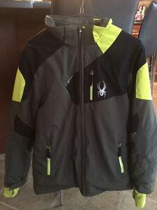 Spider Boy's Winter Ski Jacket