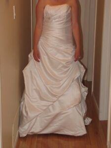 Wedding dress never worn or altered