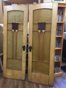 Antique Ships Cabin Doors at The Old Attic