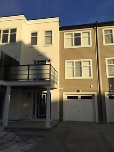 Brand new Townhouse with single car garage for rent