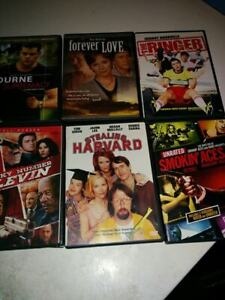 dvds .25 cents each must buy whole lot