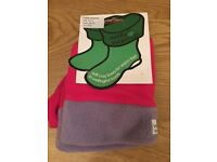 Kids Welly Warmers Size 10-13