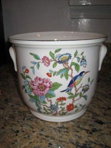 Aynsley Pembroke Flower Pot Cachepot XXLARGE 7.5inch X 6.25inch ~real good shape