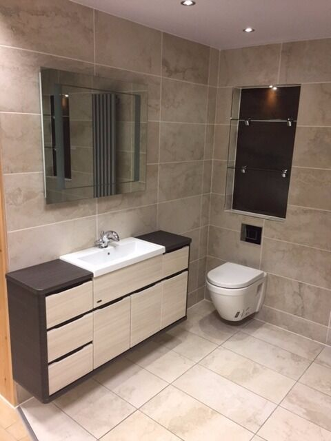 Complete Bathroom Set Ex Display Alaris Banchory Showroom In