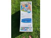 INTEX 13 ft x 33-Inch EASY SET INFLATABLE POOL SET (Blue) INCL FILTER PUMP - BRAND NEW