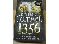 Bernard Cornwell 1356 (Free post UK)