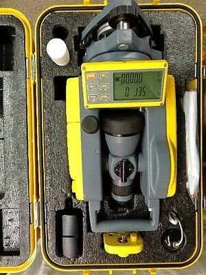 Spectra Precision Laser Det-2 Dig Elec Theodlite 2 Secdual Lcd Disp Nimh Bat