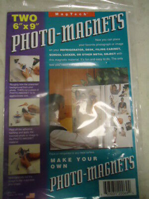"MagTech Two 6"" x 9"" Photo-Magnet Sheets"