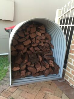 FIREWOOD STORAGE - MADE FROM COLORBOND - NEW - INCLUDES DELIVERY Sydney City Inner Sydney Preview