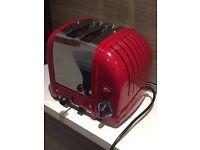 Dualit 2-slice Red Classic Vario Toaster