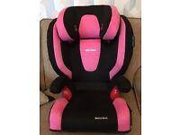 RECARO Monza Nova Child Car Seat PINK/BLACK