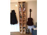 2 x IKEA CD / DVD / Book STORAGE SELVES