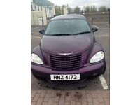 Purple Chrysler PT Cruiser
