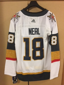 New with Tags - Vegas Golden Knights James Neal XL White jersey