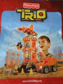 Fisher Price Trio Buiding Set-Cargo Loader (Age 4-7)