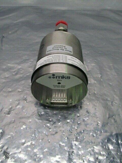 MKS 627BU5TBD1B Baratron Capacitance Manometer, 0.05 Torr, 100659