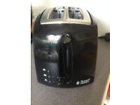 Black toaster - Russel Hobbs