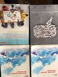 NSCC First year Business Admin textbooks- $40.00 each