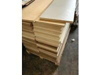 MDF - ideal for a loft floor or shelves in garage / shed