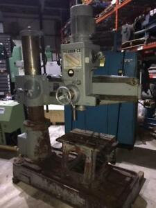(USED) RADIAL ARM DRILL MACHINE / MEUSER 1-1/2""