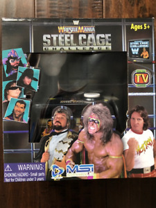 WWE Wrestlemania Plug N Play Steel Cage Challenge - Brand New