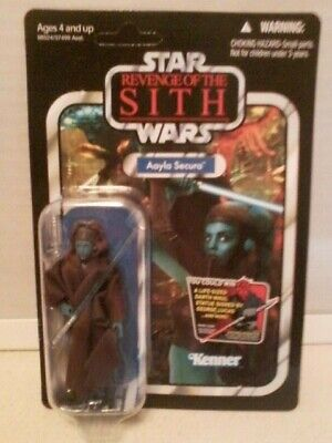 STAR WARS VINTAGE COLLECTION VC58 AAYLA SECURA FIGURE REVENGE OF THE SITH MOC