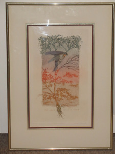 William Marlow Lithograph**********NOW $50**********