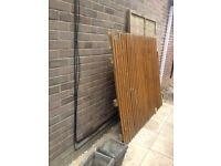 2x Wooden Fence Panels