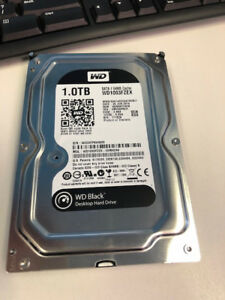 1TB WD Black Hard Drive (x4)