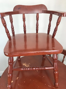 Children's Table and Chairs Set (real wood)