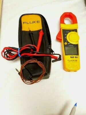 Fluke 902 Hvac Clamp Meter W Cables And Fluke Carrying Case