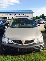 2003 Pontiac Montana Minivan 167,00Km Certified $3,995+Taxes&Lic