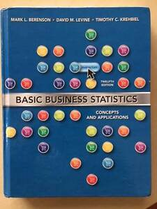 Basic Business Statistics Concepts and Applications Textbook, 12e Floreat Cambridge Area Preview