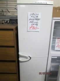 +*DAEWOO FULLSIZE 6FEET FROST FREE/*Free Delivery*A CLASS LOW ENERGY EFFICIENT/FRIDGE FREEZER/VERY C