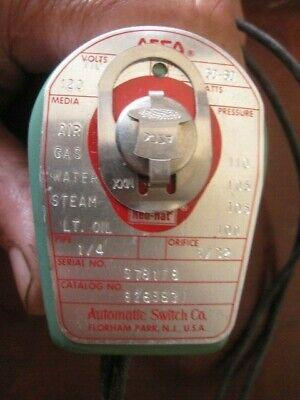 Asco Red Hat 14 Solenoid Valve 8263b31 T2