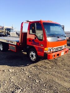 2004 GM C W5500 Flatbed Tow Truck